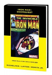 Iron Man vs. Doctor Doom Doomquest Hardcover Direct Market Edition
